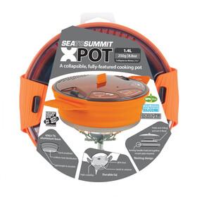 Sea to Summit X-Pot 1,4L, orange